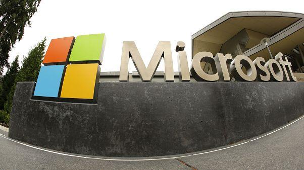 Microsoft Corp. logosu
