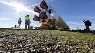 NASA Moon Rocket