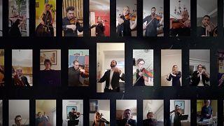 Bella Ciao – az ellenállás jelképével buzdítanak otthon maradásra az újvidéki szimfonikusok