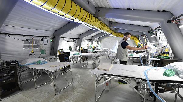 В Италии вновь рекордное число жертв коронавируса, но пик эпидемии ещё не пройдет