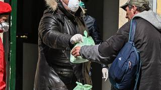 Kein Unterschlupf: Covid-19 trifft Obdachlose besonders hart