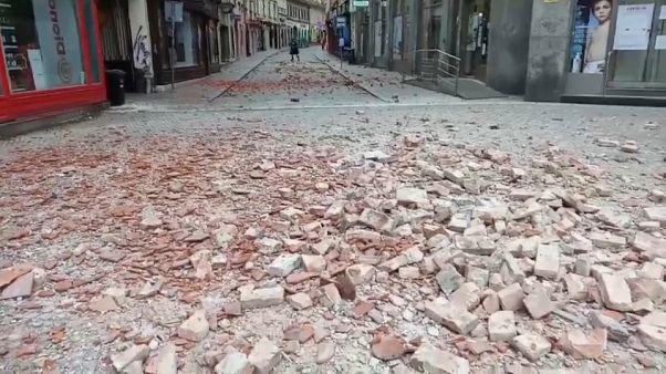 Un tremblement de terre frappe la Croatie