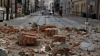 Un sismo de 5,3 importantes daños materiales en Zagreb