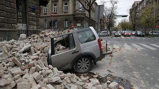 APTOPIX Croatia Earthquake