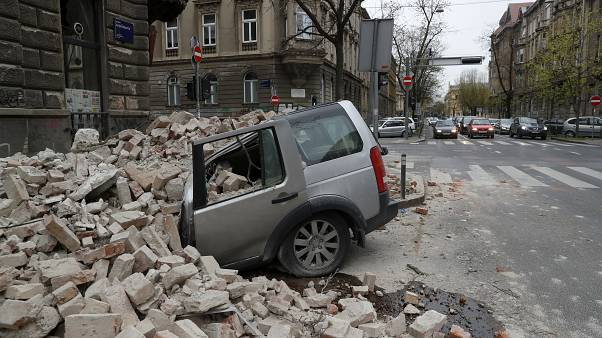 APTOPIX Croatia Earthquake