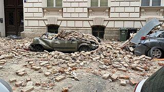 زلزله ۵.۳ ریشتری پایتخت کرواسی را لرزاند