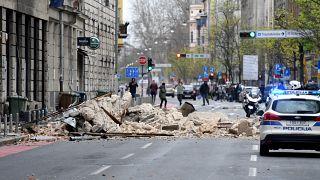 زلزال قوي يضرب العاصمة الكرواتية ويتسبب في أضرار مادية كبيرة