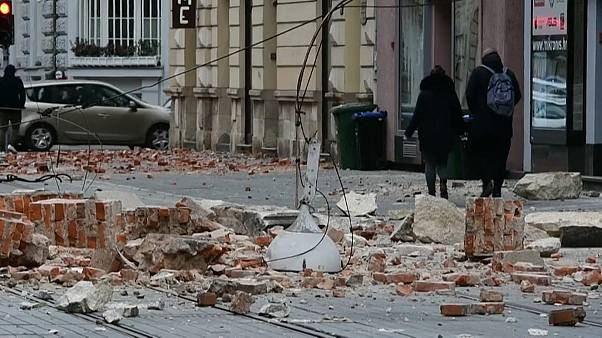 Dos intensos terremotos sacuden el corazón de Croacia