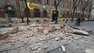 """Schweres Erdbeben trifft Zagreb zur Unzeit: """"Bleibt stark!"""""""