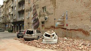 شاهد: أضرار مادية كبيرة جراء زلزال ضرب العاصمة الكرواتية
