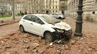 Erdbeben erschüttert Zagreb - Zahlreiche Verletzte
