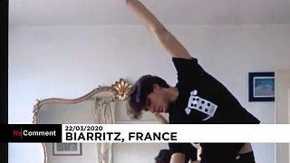 Danser pour patienter et continuer à s'entraîner