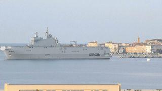 Coronavirus : la Marine nationale évacue douze patients de Corse