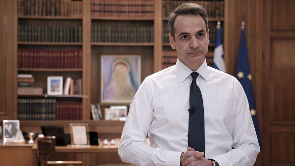 Απαγόρευση κυκλοφορίας από τις 6.00 το πρωί της Δευτέρας ανακοίνωσε ο Κ. Μητσοτάκης