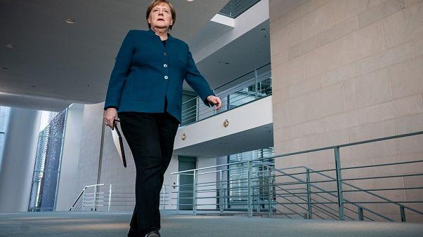 Angela Merkel em quarentena