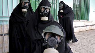 APTOPIX Virus Outbreak Mideast Iran