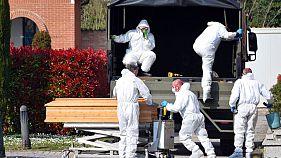 شیوع کرونا در جهان؛ ۶۰۱ نفر دیگر در ایتالیا جان باختند