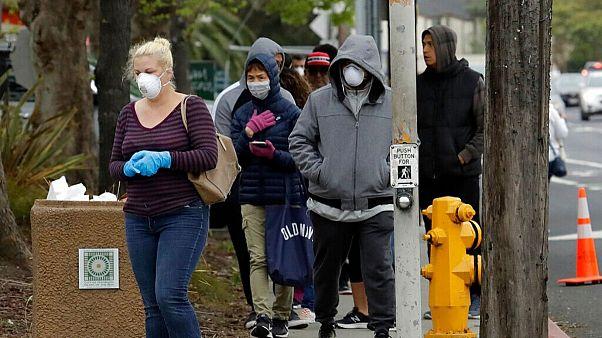 شیوع کرونا در جهان؛ تعداد جانباختگان در آمریکا از ۵۰۰ نفر فراتر رفت