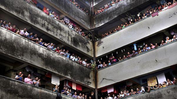 انتشار وباء كورونا في الهند. 22/03/2020