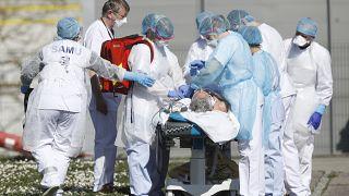 وباء كورونا يضرب في شرق فرنسا. 23/03/2020