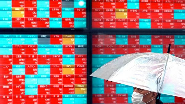 Затяжное падение биржевых индексов в Европе