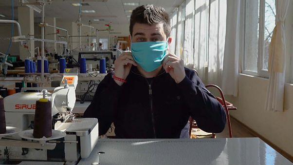 Bulgária aposta na produção de máscaras