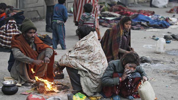 أناس مشردون في اقليم جامو وكشمير - 2019/12/28