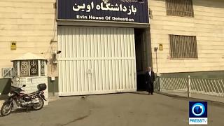 انتشار ویدیویی از لحظه آزادی شهروند فرانسوی از زندان اوین