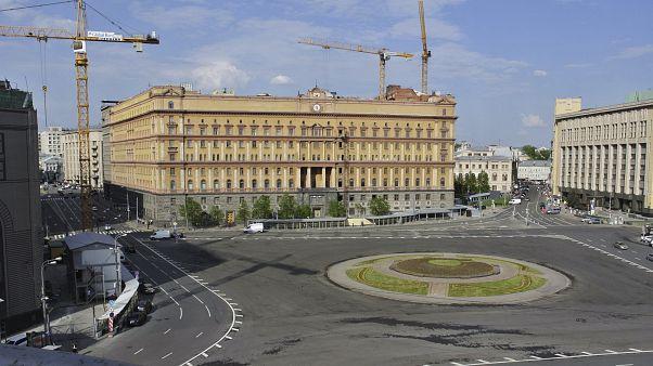 مقر جهاز المخابرات الروسية في موسكو