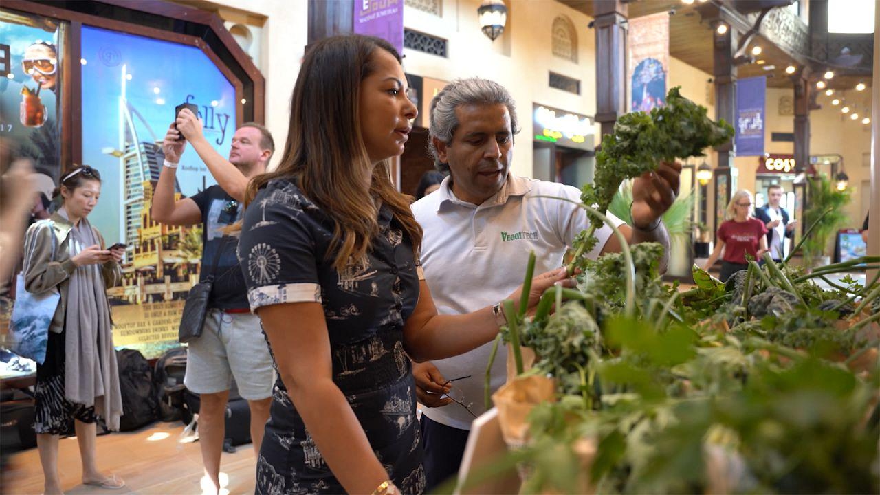 Βιώσιμα τρόφιμα στο Ντουμπάι