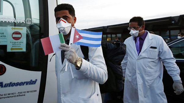 Küba'dan İtalya'ya doktor desteği