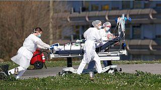 شیوع کرونا؛ مرگ نزدیک به هزار نفر در فرانسه و ایتالیا طی ۲۴ ساعت