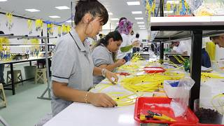 Kadın fabrika işçileri