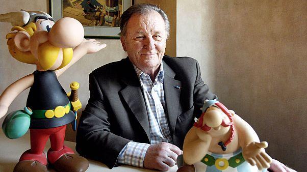 Albert Uderzo en 2007