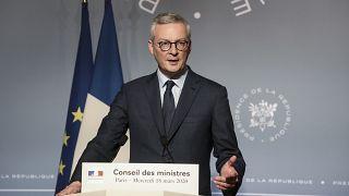 Министр экономики и финансов Франции Брюно Ле Мэр.