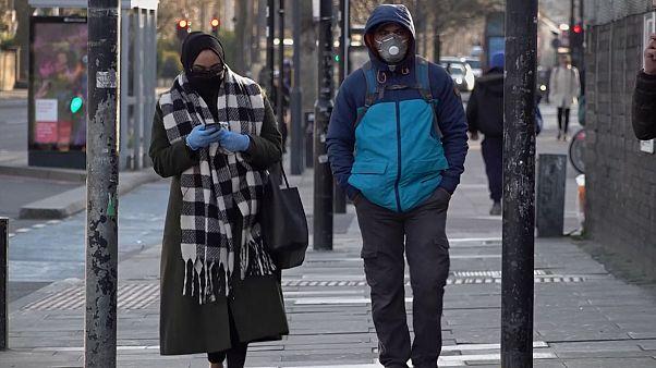 شاهد: شوارع لندن شبه خالية بعد إعلان الحكومة عن الحجر المنزلي لثلاثة أسابيع