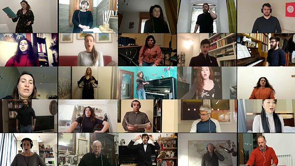"""Il """"Va' pensiero"""" dell'International Opera Choir per esorcizzare la pandemia"""