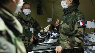 Virus Outbreak Eastern France