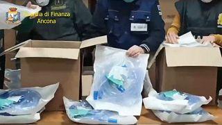 Κατάσχεση φορτίου 2.000 αναπνευστήρων με προορισμό την Ελλάδα (vid)