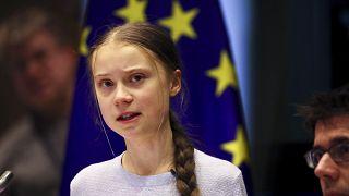 İklim aktivisti Greta Thunberg