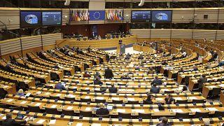 Koronavírus - EU, Koronavírus - EU, BELGIUM EU PARLIAMENT PLENARY SESSION