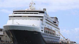 Karantinadaki gemilerin yüzeylerinde 17 gün sonra koronavirüs izlerine rastlandı