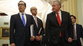اتفاق بين مجلس الشيوخ والبيت الأبيض على خطة بقيمة تريليوني دولار للتصدي لانعكاسات كورونا