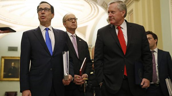 Steve Mnuchin,Eric Ueland,Mark Meadows