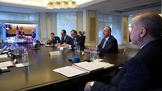 G20 Liderler Olağanüstü Zirvesi sona erdi; Cumhurbaşkanı Erdoğan, video konferansla zirveye katıldı