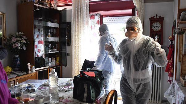 APTOPIX Italy Virus Outbreak