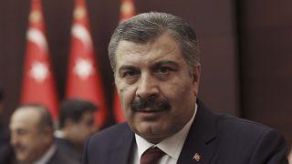 Turkish Health Minister Fahrettin Koca