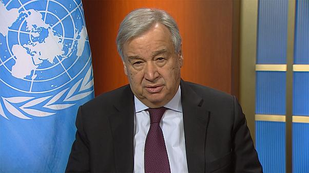 """Covid-19: António Guterres defende """"economia de guerra"""""""