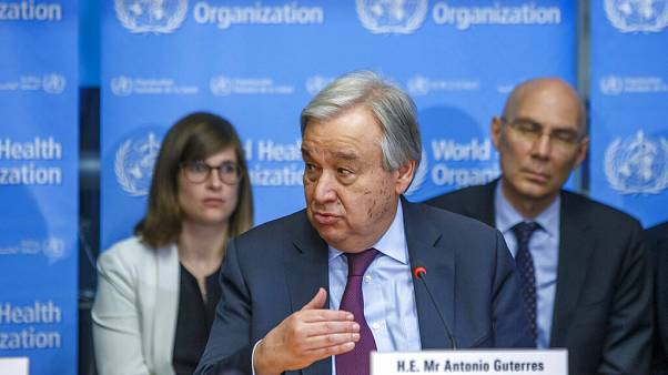 Antonio Guterres is speaking to Euronews about the United Nations' response to the coronavirus crisis.