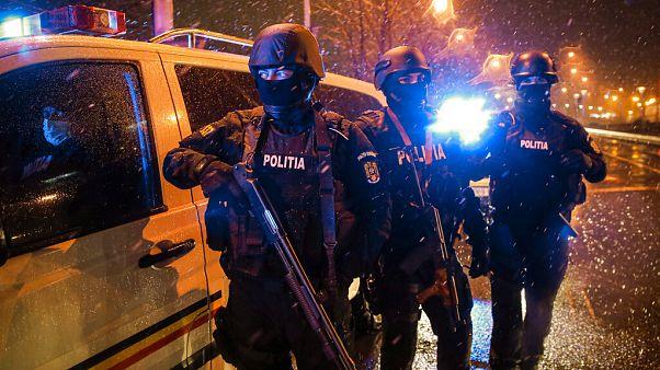 APTOPIX Virus Outbreak Romania Lockdown